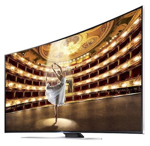 "SAMSUNG UN65HU9000 Curved 65"" 4K TV"